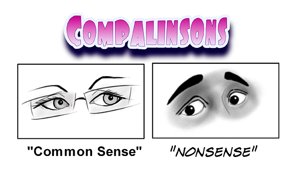 Common Sense versus Nonsense