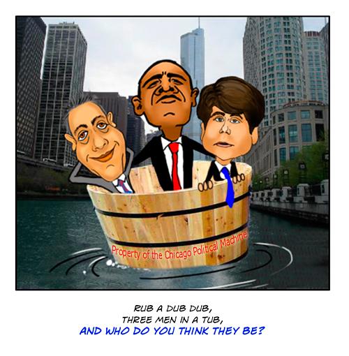 Obama Chicago politics cartoon